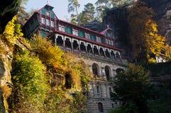 Het Hotel van de berg Stock Afbeelding