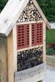 Het hotel van de huistuin voor insecten Stock Afbeeldingen