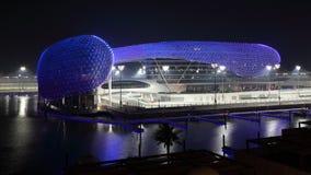 Het Hotel van de Jachthaven van Yas, Abu Dhabi royalty-vrije stock foto