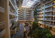 Het hotel van de luxe stock afbeelding