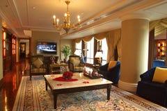 Het hotel van de luxe in guangzhou stock foto