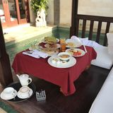 Het Hotel van de ontbijtluxe royalty-vrije stock fotografie