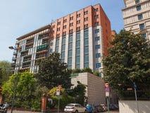 Het Hotel van Ducadi Milaan Stock Foto's