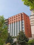Het Hotel van Ducadi Milaan Stock Foto