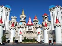 Het hotel van Excalibur Royalty-vrije Stock Foto