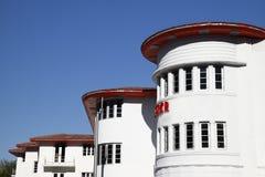 Het Hotel van het art deco, het Strand van het Zuiden, Miami. stock foto's