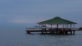 Het Hotel van het de Luxestrand van Seychellen Stock Afbeelding