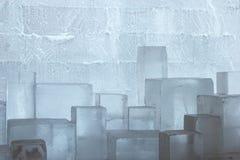 Het hotel van het ijs dichtbij Kiruna Stock Fotografie