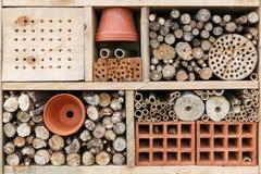Het hotel van het insect Stock Foto's