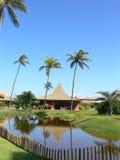 Het HOTEL van het paradijs stock foto's