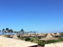 Het HOTEL van het paradijs stock foto
