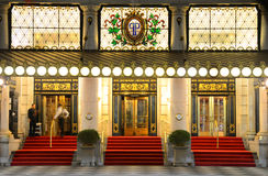 Het Hotel van het plein Royalty-vrije Stock Afbeelding