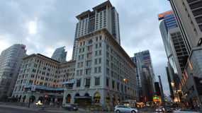 Het hotel van het Schiereiland, Hongkong royalty-vrije stock afbeelding