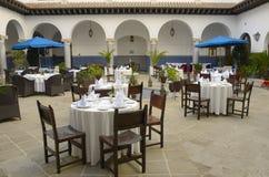 Het hotel van het terras in Tanger Royalty-vrije Stock Afbeelding