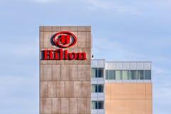 Het hotel van Hilton Royalty-vrije Stock Afbeelding