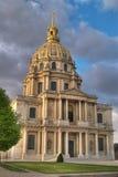 Het hotel van Invalides van Les, Parijs Stock Afbeelding