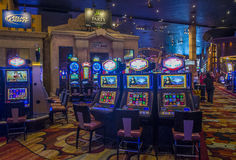 Het hotel van Las Vegas New York Stock Afbeelding