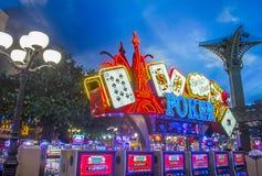 Het hotel van Las Vegas, Parijs Royalty-vrije Stock Foto's