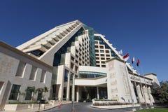 Het hotel van loterijen in Doubai stock fotografie