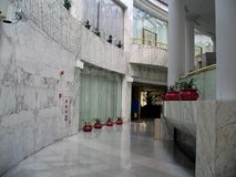 Het hotel van Nice Stock Afbeeldingen