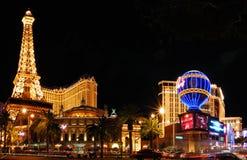 Het Hotel van Parijs en Casino, Las Vegas Royalty-vrije Stock Foto's