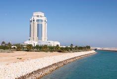 Het hotel van ritz-Carlton van Doha Stock Fotografie