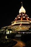 Het Hotel van San Diego bij nacht Royalty-vrije Stock Afbeeldingen