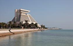 Het Hotel van Sheraton in Doha. Qata Stock Afbeelding