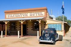 Het Hotel van Silverton Royalty-vrije Stock Foto