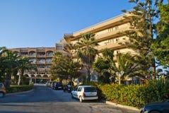 Het Hotel van Sunbeach Royalty-vrije Stock Fotografie