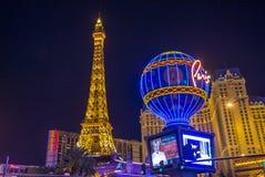 Het Hotel van Vegas Parijs van Las Royalty-vrije Stock Afbeelding