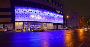Het Hotel van Yotel - Times Square New York Stock Fotografie