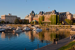 Het Hotel Victoria Canada van de Keizerin van Fairmont Stock Afbeeldingen