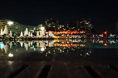 Het hotel zwembad van de luxe Stock Afbeelding