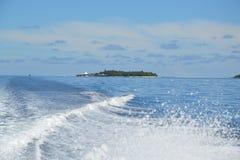 Het Hoteloverdracht van de Maldiven Royalty-vrije Stock Foto's