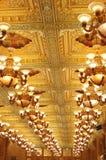 Het hotelplafond Royalty-vrije Stock Afbeeldingen