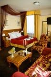 Het hotelreeks van de luxe stock afbeelding