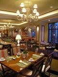Het hotelrestaurant 2 van de luxe Stock Afbeelding