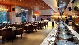 Het hotelrestaurant Royalty-vrije Stock Foto