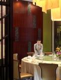 Het hotelrestaurant Stock Afbeelding