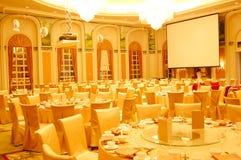 Het hotelrestaurant van de luxe Stock Foto