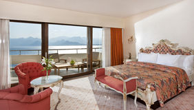 Het hotelruimte van de luxe Royalty-vrije Stock Foto