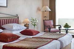 Het hotelruimte van de luxe Stock Foto's