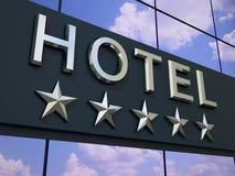 Het hotelteken stock illustratie