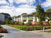 Het hoteltuin van de luxe Royalty-vrije Stock Foto's