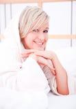 Het hotelvrouw van het weekend Stock Foto's