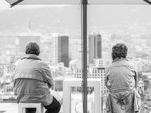 Het houden van de van Stad Royalty-vrije Stock Fotografie