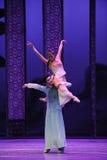 Het houden van de van steun-tweede handeling van de gebeurtenissen van dans drama-Shawan van het verleden Stock Afbeelding