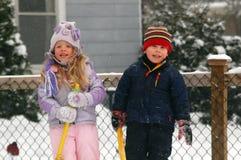 Het houden van de van Winter royalty-vrije stock afbeeldingen