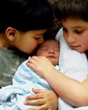 Het houden van op Baby Royalty-vrije Stock Fotografie